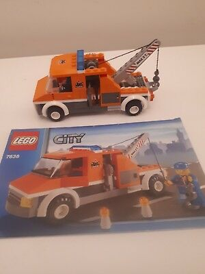 LEGO CITY !! Instructions Only !! For 7638 Tow Truck - £2.99 ...