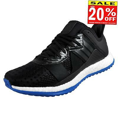 c5a57c0c7c6ea3 Adidas Pureboost ZG Mens Running Shoes Fitness Gym Trainers Black