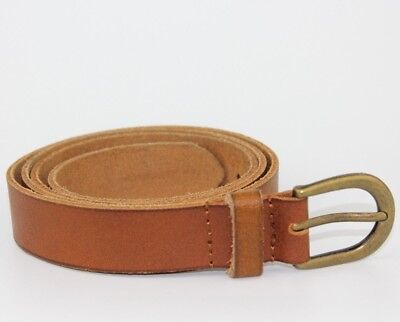 """Vintage Retro Style NEXT Womens Brown Belt Real Leather Size 32-34"""""""