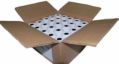 50 Thermal Paper Rolls 2-1/4 X 63 Ingenico ICT 200 220 250 FD400 Vx520 New