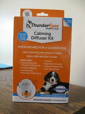 NEW!! THUNDEREASE Calming Diffuser Kit for A Calmer Dog