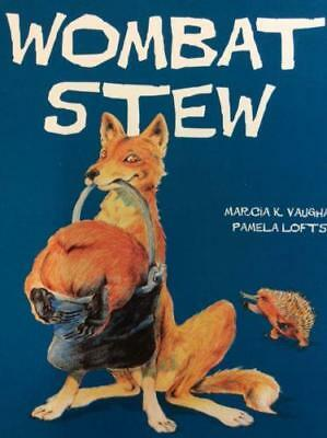 WOMBAT STEW  by Marcia K.Vaughan SCHOLASTIC  Brand NEW paperback