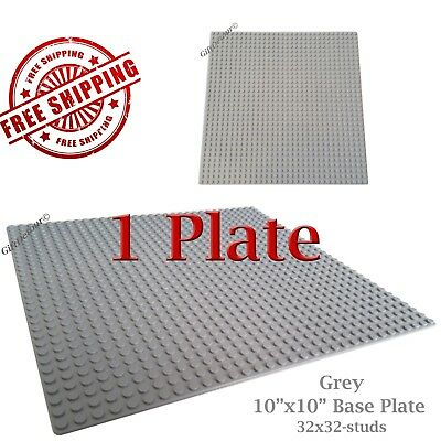 For LEGO 1 Red 10x10-inch 32x32-stud Brick Building Base Plate