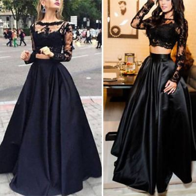Stylish Wedding Bridesmaid Long Evening Party Ball Prom Gown Cocktail Maxi Dress