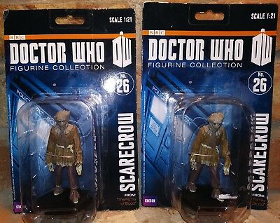"""BBC Doctor Who Dr Scarecrow 1:21 Scale Figure lot 4"""" new 2012 #26 figurine zygon"""