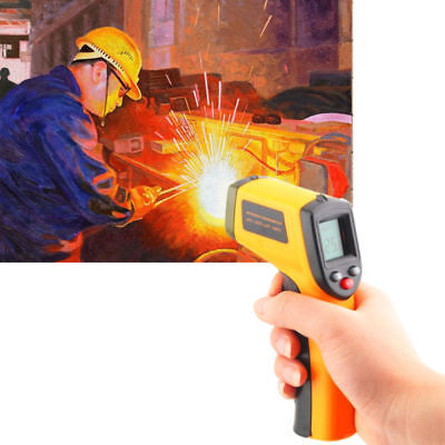 Digital Infrared Handheld Temperature Gun Thermometer Non-Contact IR Laser Guns