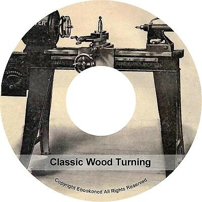 How To Turn Wood Turning Woodwork Diagrams Instructions Lessons Books on CD