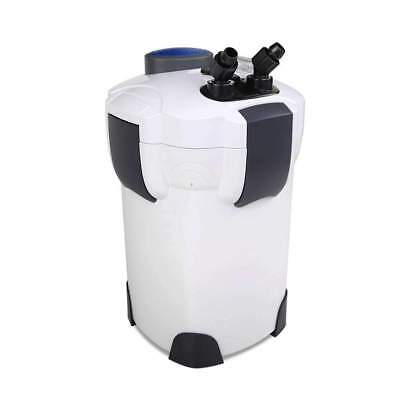 Aquarium External Canister Filter Aqua Fish Tank UV Light + Media Kit 1400l/h