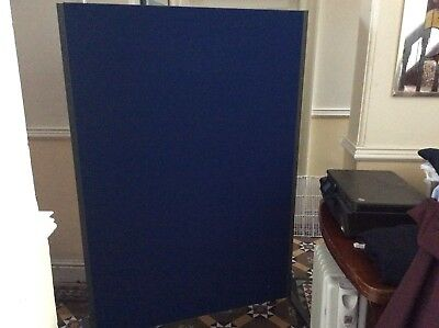 Office Divider Partition screen - blue