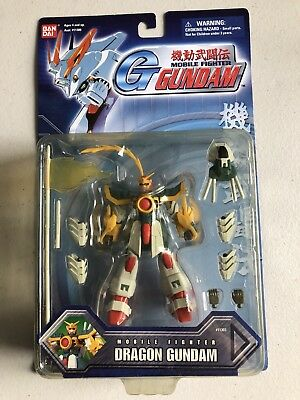 Bandai Sealed Dragon Gundam Mobile Fighter ACTION FIGURE Msia Lot