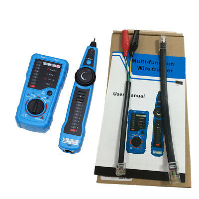 Bside FWT11 Telephone Network Wire Tracker LAN Cable Tester Detector Line Finder