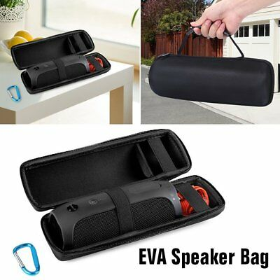 EVA Travel Protective Hard Carrying Case Bag for JBL Flip 4 Bluetooth Speaker