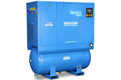Senator CS11 11KW 4 in 1 air station rotary screw compressor