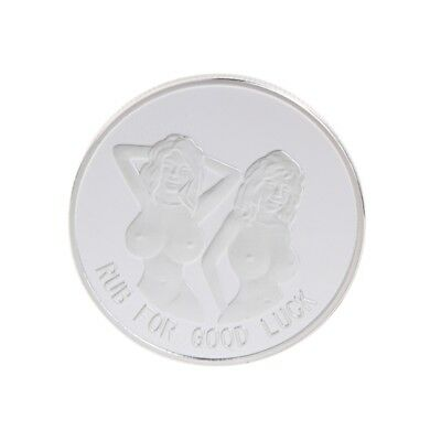 Silvery For RUB Good Luck Collection Commemorative Coin Gift Arts Alloy Souvenir