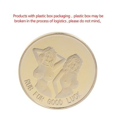 Golden For RUB Good Luck Collection Commemorative Coin Arts Gift Alloy Souvenir