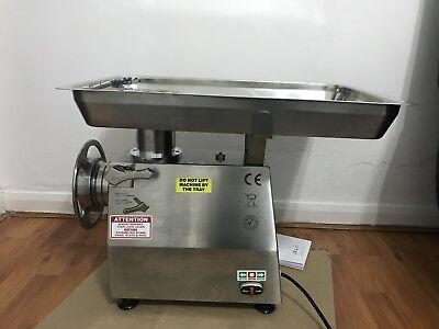SAP Commercial Butcher's Meat Grinder/Mincer production 32QRT made in Italy