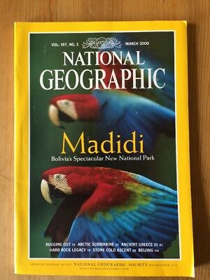 NATIONAL GEOGRAPHIC MAGAZINE March 2000
