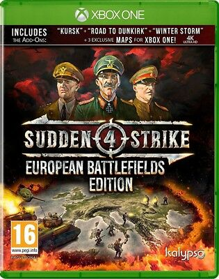 Sudden Strike 4 - European Battlefields | Xbox One New Preorder