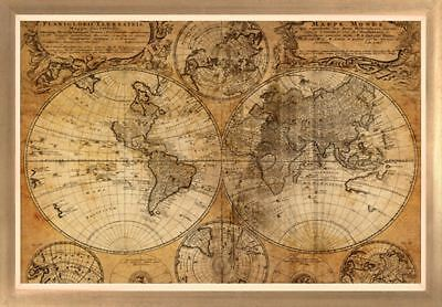 Vintage Map By GraphINC