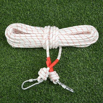 Outdoor Activities 65.6ft Rock Climbing Auxiliary Rope White Outdoor Sports Rope
