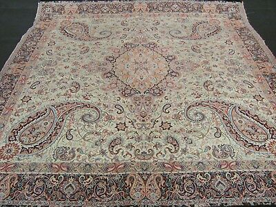Persian Woven Fine Art Silk Termeh Tapestry Rug Style Tablecloth Wall Hanging