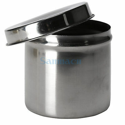Multiple Sizes Stainless Steel Ointment Jar Alcohol Cotton Container Dressing