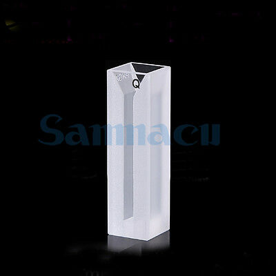 1050ul 3mm Inside Width Micro JGS1 Quartz Cuvette Cell With Stopper