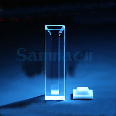 1750ul Path Length Micro JGS1 Quartz Cuvette Cell With Telfon Lid