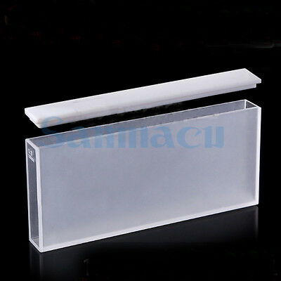 100mm JGS1 Quartz Cuvette Cell With Lid For Uv Spectrophotometers