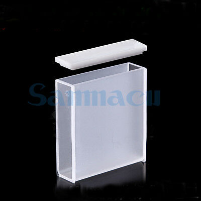 40mm JGS1 Quartz Cuvette Cell With Lid For Uv Spectrophotometers