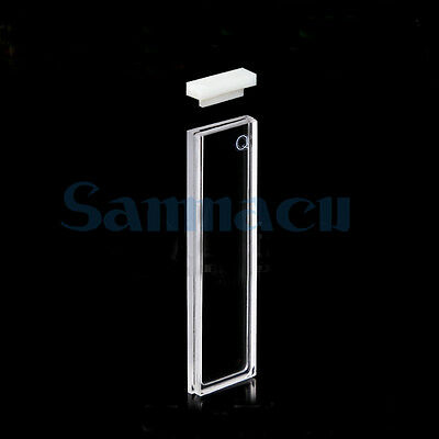 0.5mm JGS1 Quartz Cuvette Cell With Lid For Uv Spectrophotometers