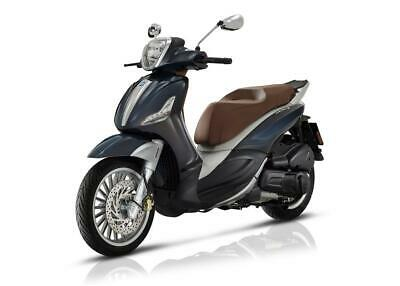 New Piaggio Beverly Scooter 300 ABS IE Grey Save £500 !