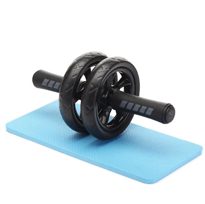 Ab Roller Dual Wheel - Exercise for Home Gym - Fitness Equipment & Accessories