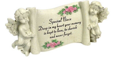 Angraves Special Daughter Graveside Memorial Scroll Plaque Ornament Grave Tribute Garden Décor