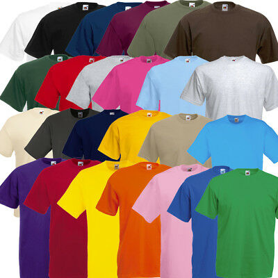 5er / 10er T-Shirt Fruit of the Loom Valueweight Set Tshirt S bis XXL 25 Farben