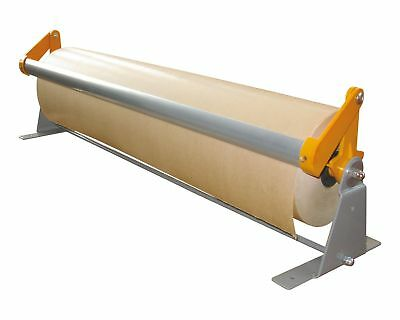 Wrapping Paper Roller paketpapier Wall Table Mounting 700 or 750 MM WIDE CASTERS