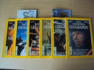 "Lote revistas ""national geographic"""