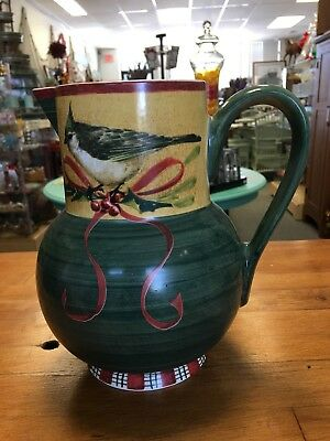Lenox WINTER GREETINGS EVERYDAY Large 64 oz Pitcher