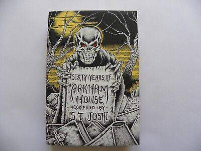 Sixty Years Of Arkham House - Mint - Joshi - Call of Cthulhu  - Lovecraft