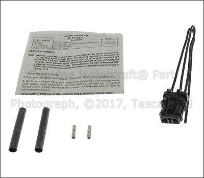 New Oem 2-Cavity Pigtail Wire Harness Wiring Taurus & Sable #3U2Z-14S411-Tya