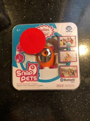 "WowWee Snap Petz Dog Portable Bluetooth Camera Novelty, ""Selfies in a snap"" NIB"