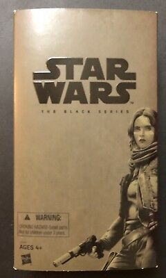 Sdcc 2016 Hasbro Star Wars The Black Series Rogue One Jyn Erso Figure Exclusive