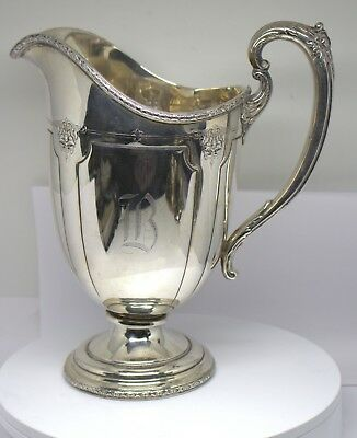 Towle Louis Xiv Sterling Silver 7 Half Pint Water Pitcher # 67160 # 88653-11 D
