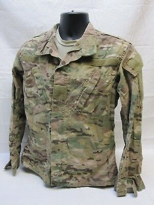ARMY ISSUE MULTICAM Top Flame Resistant Fracu X-Small/short Combat Uniform  Br