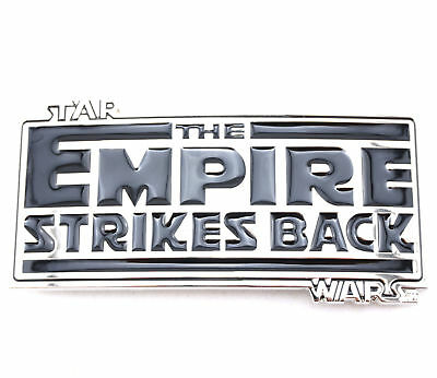 Star Wars The Empire Strikes Back Metal Belt Buckle
