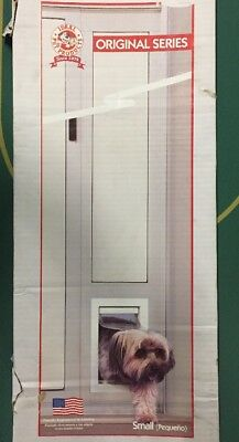 Ideal Pet Products PATSW96 Fast Fit Patio Pet Door -Small, White-
