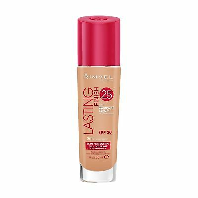 Rimmel London Lasting Finish 25 HR Foundation with Comfort Serum VARIOUS SHADES