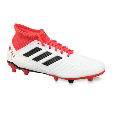 9e06147e4ab ADIDAS MEN S PREDATOR 18.3 FG White Core Black CM7667 -  68.98 ...