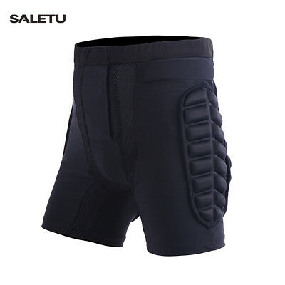SALETU Skiing Roller Skating Exercise Gear Buttocks Protective Shorts Pad Pants