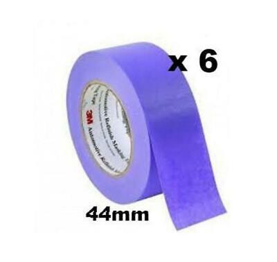 3M 150 Auto High Temp Masking Tape Packing Purple 44mm x 50m 6 Pack